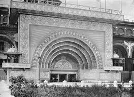 Louis Sullivan by Transportation Building