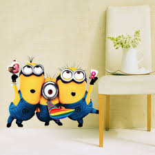 despicable me minion little kid child wall sticker decal home