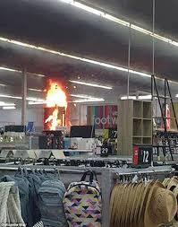 Wedding Arch Kmart Arsonist Sets Kmart Caboolture On Fire Two Days After Jail Release