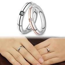 aliexpress com buy opk fashion trendy lovers wedding ring bands