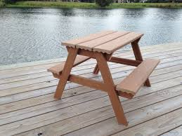Diy Wood Picnic Table by Innovative Composite Wood Picnic Table Diy Composite Toddler