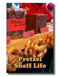 shelf life of chocolate covered pretzels