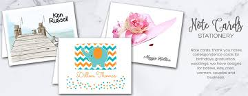 personalized cards personalized note cards and thank you notes