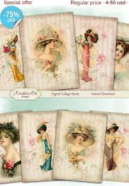 aceo cards for sale 75 sale digital collage sheet digital