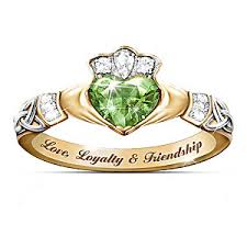 the claddagh ring loyalty friendship reflections of ireland color changing