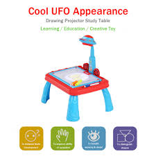 Desk Appearance Cute Child Drawing Practice Study Table Kids Learning Desk With