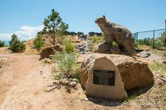 Botanical Gardens Grand Junction Greta The Dinosaur In The Park At Entrance To Downtown Fruita