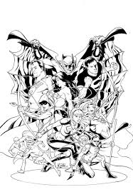 cbg justice league teen titans cover by jamaligle on deviantart