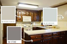 Kitchen Paint Ideas With White Cabinets Painting Our Upper Cabinets White Young House Love