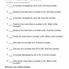 sample word problem worksheets 7th grade math worksheet word
