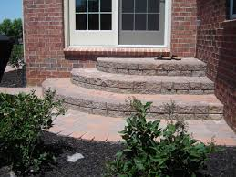 Brick Stairs Design Backdoor Brick Paver Steps Steps And Stairs Pinterest Brick
