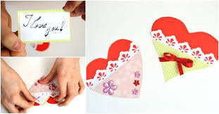 how to make gift cards how to make paper heart gift cards how to