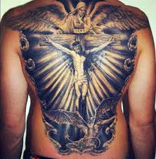 full back jesus on the cross tattoo check out these jesus tattoo