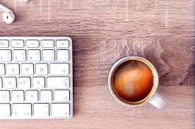Tisch Schreibtisch Kostenlose Bild Computer Tastatur Kaffeetasse Tisch