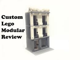 custom lego 16 wide modular apartment review youtube