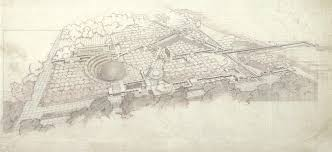 frank lloyd wright florida southern college master plan
