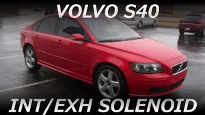 2005 2011 volvo intake or exhaust solenoid replacement on 2005