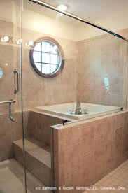 Small Bathroom With Shower And Bath Japanese Style Shower And Soaking Tub Bathrooms For Insipration