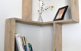 How To Build A Corner Bookcase Corner Bookshelf Home Design And Interior