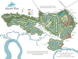 I 95 Map Master Plan Osprey Cove St Marys Georgia Golf Community