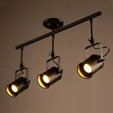 Track Light Pendant by Vintage Ceiling Spot Track Light Mklot Adjustable 3 Light