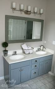 bathroom vanity makeover ideas shocking pretty distressed bathroom vanity makeover with paint