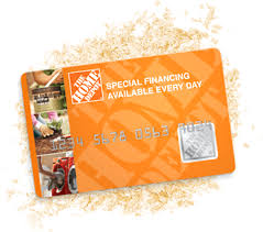 homedepot credit card sign on