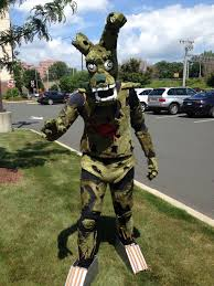 five nights at freddy s halloween horror nights self for my first cosplay convention i went as springtrap from
