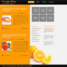 Orange Colors Names Orange Website Templates
