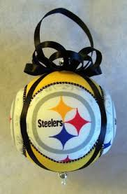 pittsburgh steelers christmas ornament by foxysfundangles on etsy