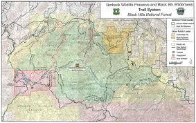National Forest Map Colorado by Black Elk Peak Harney Peak Climbing Hiking U0026 Mountaineering