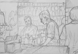 cocktail sketch quick sketch u0027hemingway bar prague u0027 u2013 sketchbook explorer