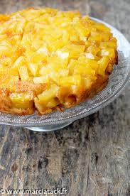 cuisiner l ananas gâteau renversé à l ananas caramélisé recettes de cuisine