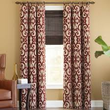 Drapes Grommet Top Best 25 Red Curtains Ideas On Pinterest Red Decor Accents Red