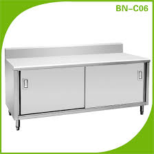 stainless steel kitchen furniture global popular stainless steel commercial kitchen cabinet china