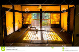 japanese traditional room stock photo image 54312510