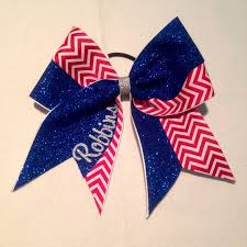 white and blue bows 13 best bows images on cheer bows cheerleading and
