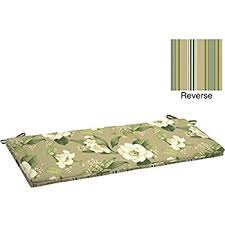 Garden Bench With Cushion Amazon Com Outdoor Patio Bench Cushion 48
