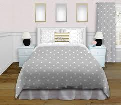 girls white bedding tween girls gray polka dot bedding set comes in king queen full