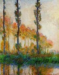 the three trees autumn 1891 claude monet wikiart org