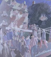 christ carrying the cross u0027 sir stanley spencer 1920 tate