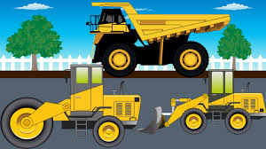 Bulldozer Truck Monster Trucks For Kids Video For Kids Youtube