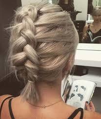 large hair pleats best 25 braided short hair ideas on pinterest braids for short