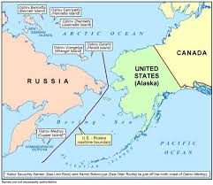 map usa russia ussr usa maritime boundary agreement
