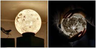 lamps that look like the moon luna moon lights