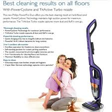 Amazon Com Bissell Symphony Pet All In One Vacuum And Steam Mop Amazon Com New Philips Fc6166 01 Power Pro Duo 2 In 1 Hand Stick