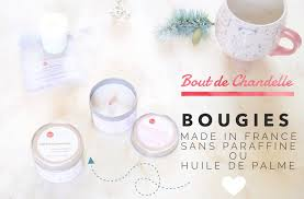 bougies bout de chandelle made in france sans paraffine