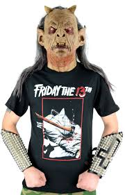 horror movie friday the 13th t shirt
