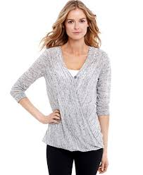 maternity faux wrap nursing top maternity