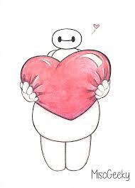 imagenes de amor para dibujar grandes i m so satisfied with you baymax valentine drawing baymax